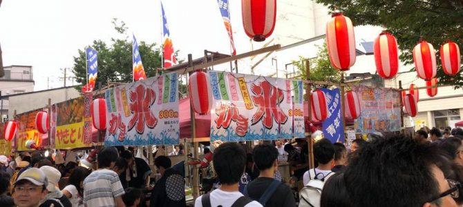 8月例会「伊那まつりDRAGON横丁」事業報告(8/4)